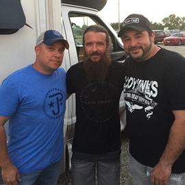 TJ, Cody Jinks and Jeb